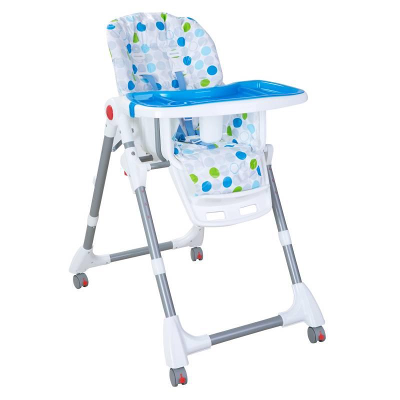 Kidscool - Silla de Comer Premium Azul