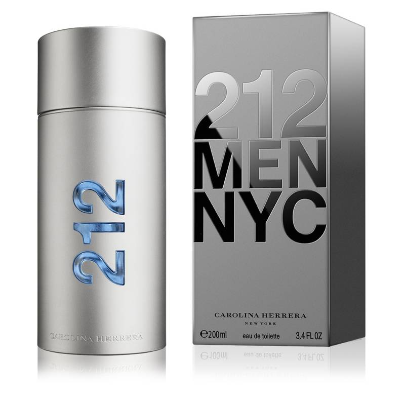 CAROLINA HERRERA - Perfume Hombre 212 Men EDT 200 ml
