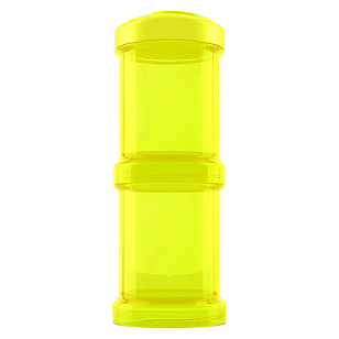Contenedor 100 ml 2 un Amarillo