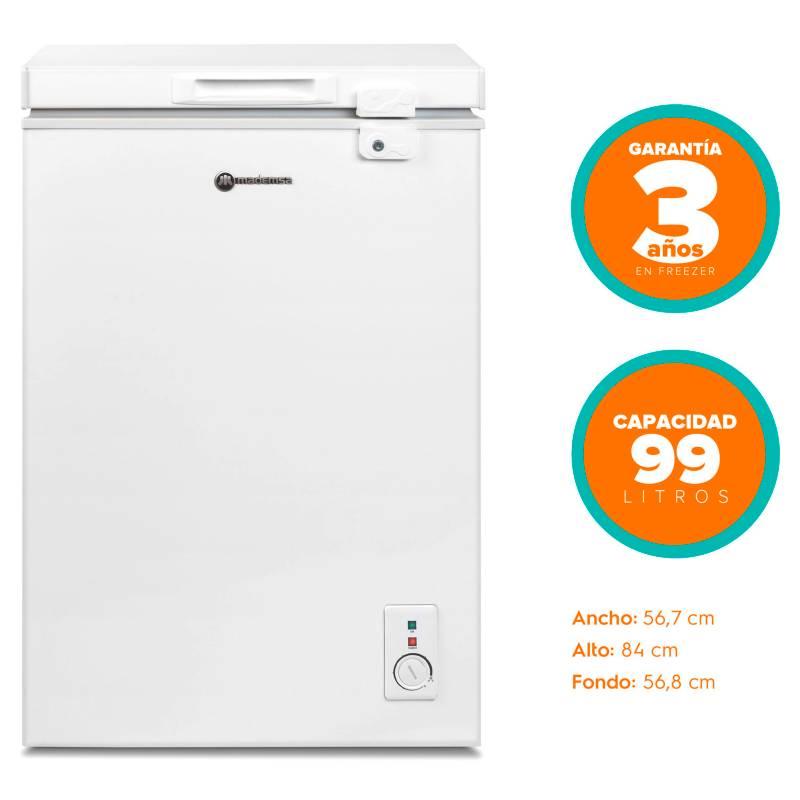 MADEMSA - Freezer Horizontal 99 lt M100