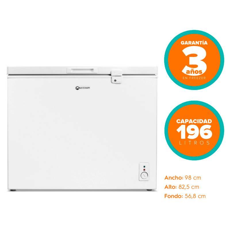 MADEMSA - Freezer Horizontal Blanco 196 Lt M200