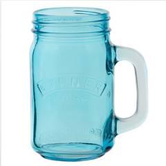 Kilner - Drinking Jarro 0.5Lt Blue