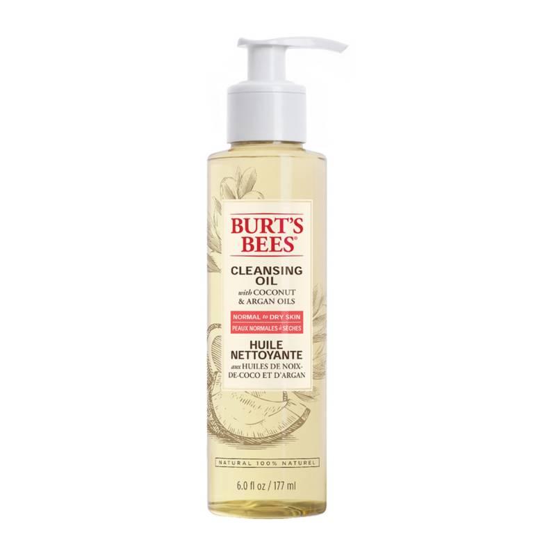 Burts Bees - Aceite Limpiador con Coco y Aceite de Argán 175 ML