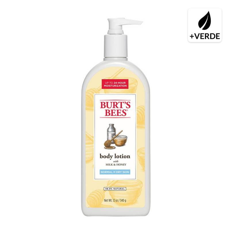 Burts Bees - Loción Corporal Natural a Base de Miel y Leche 350 G