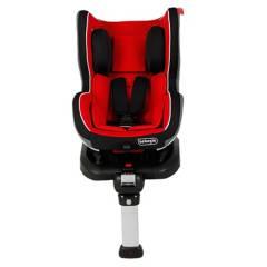 Bebeglo - Silla de Auto Convertible LB-589 Rojo Isofix y base con barra de apoyo