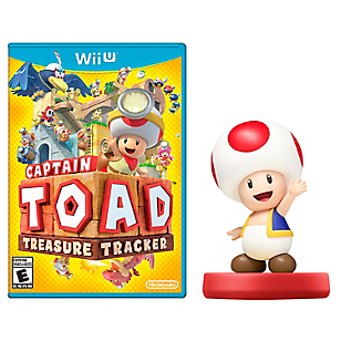 Capitain Toad + Amiibo Toad