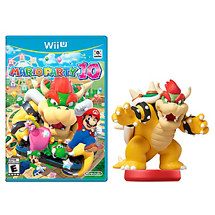 Mario Party 10 + Amiibo Bowser