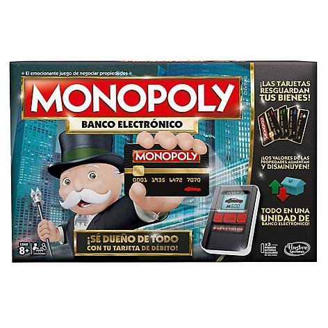 Hasbro Gaming Nuevo Monopoly Banco Electronico Falabella Com