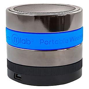 Mini Parlante Pro Bluetooth con Radio FM Azul 6129