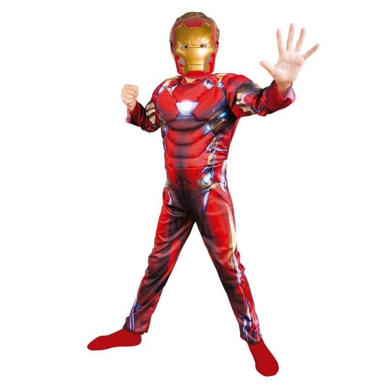 - Disfraz Assemble Ironman Deluxe