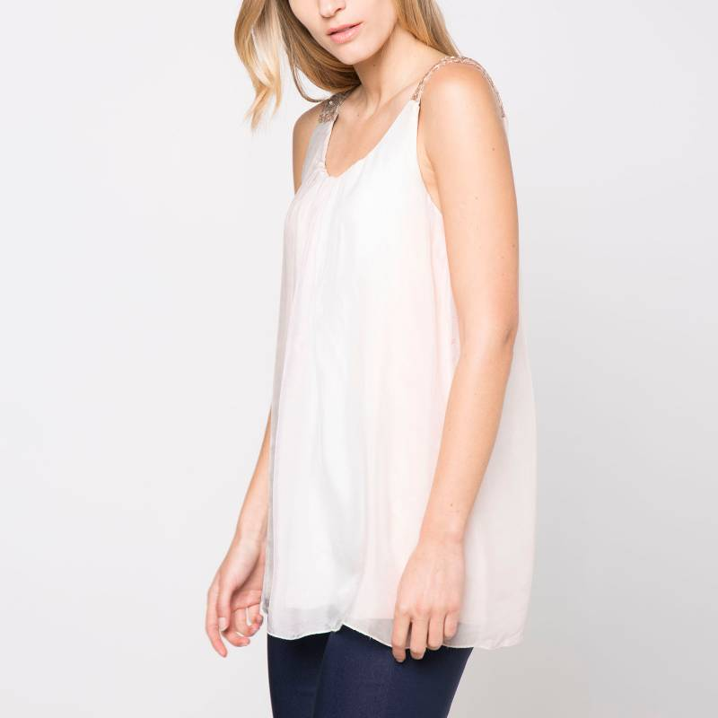 Lineatre - Blusa sin Mangas Colores