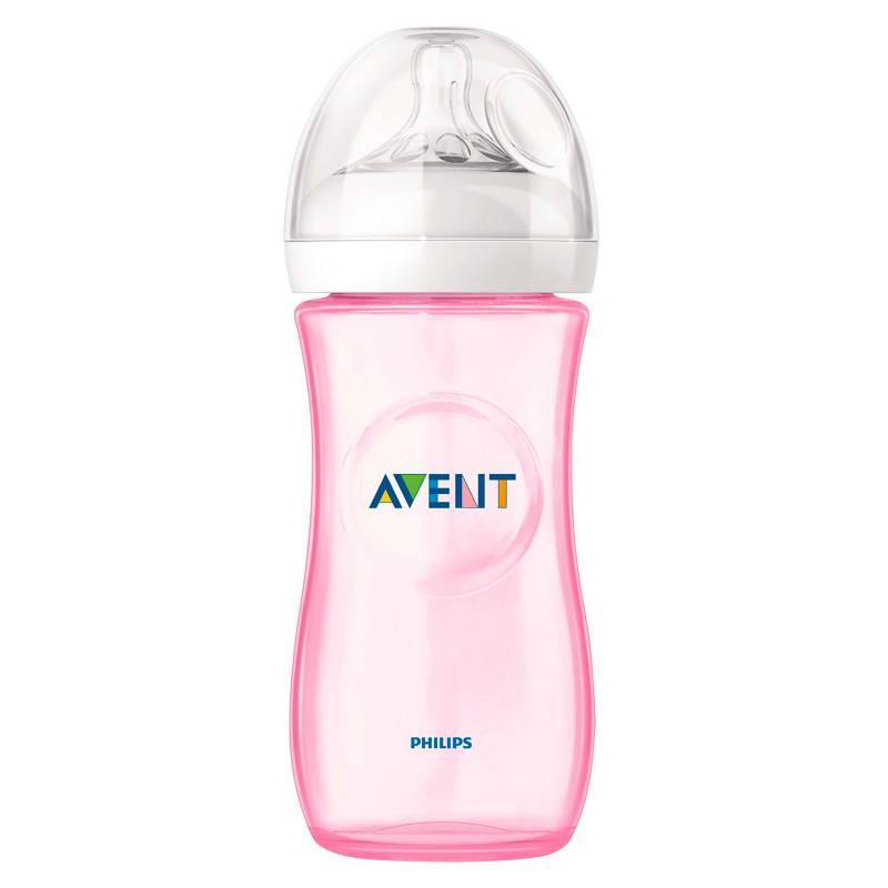 Avent - Mamadera Natural 330 ml Pink