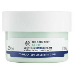 The Body Shop - Crema Facial de Noche Aloe Vera 50ML