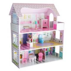 Kidscool - Casa de Muñeca Pequeña de Madera