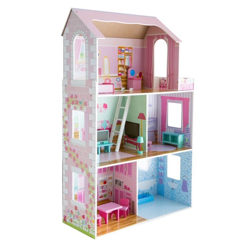 KIDSCOOL - Casa de Muñecas de Madera