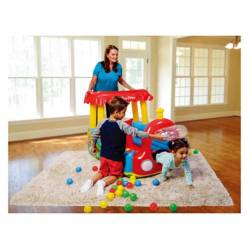 Tren Inflable Ball Pit