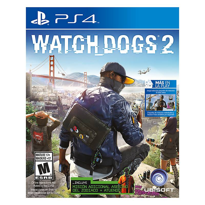 593e0840f Ubisoft Juego Watch Dogs 2 Limited Edition PS4 - Falabella.com