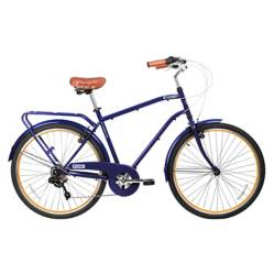 Bicicleta aro 26 city commuter azul