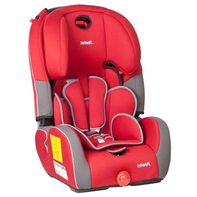 INFANTI - Silla Auto Butaca Jet Isofix Red