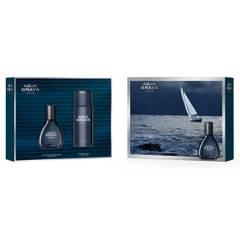 Agua Brava - Set Aqua Brava Azul EDT 50 Ml + Desodorante 150 Ml