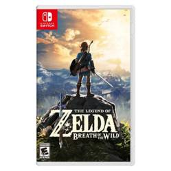 Juego Zelda Breath Of The Wild Switch