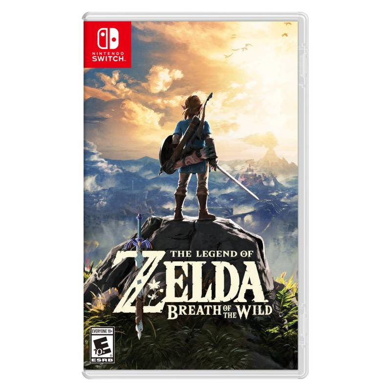 Nintendo - Juego Zelda Breath Of The Wild Switch