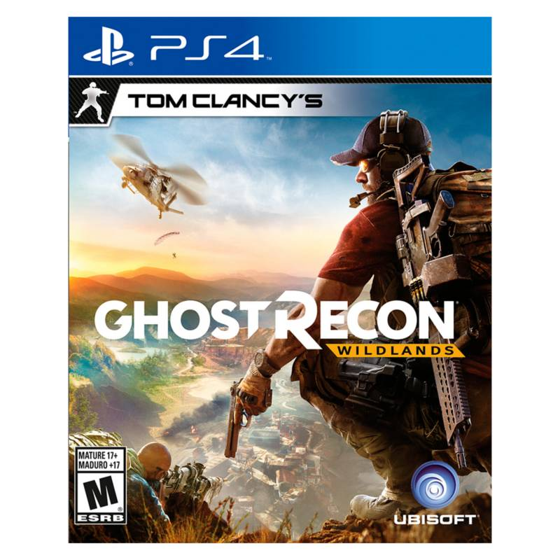 Ubisoft - Juego Ghost Recon Wildlands PS4