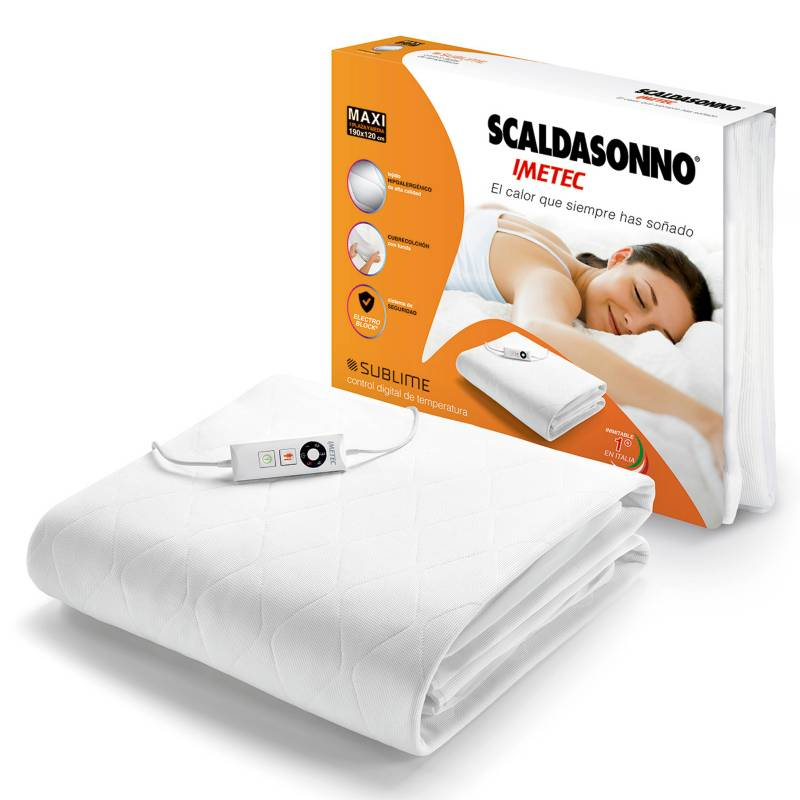 SCALDASONNO - Calientacamas 1.5 Plazas Sublime Maxi