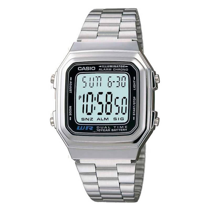 Casio - Reloj digital hombre A178WA-1ADF