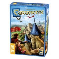 DEVIR - Juegos de mesa Carcassonne Básico