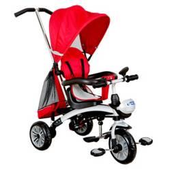 Kidscool - Triciclo 5 Funciones En 1 Rojo