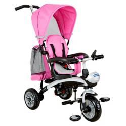 Kidscool - @Triciclo 5 funciones en 1 rosado
