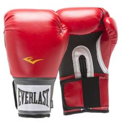 Everlast - Guante Box Pro Style Training Red