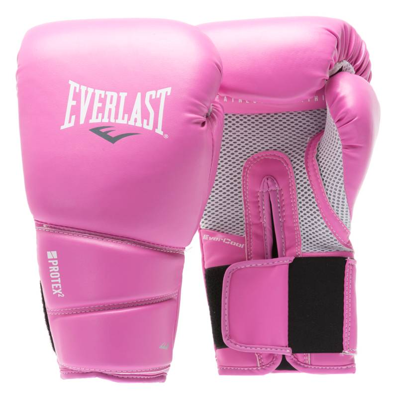 Everlast - Guante Box Protex Training Rosado