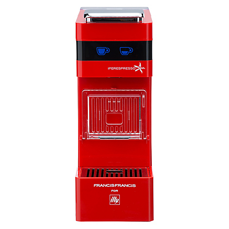 Illy cafetera iperespresso y3 roja - Cafetera illy ...