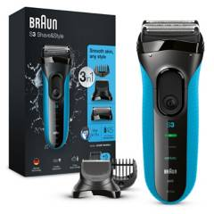 Braun - Afeitadora 3010BT WET&DRY