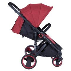 Kidscool - Coche paseo jogger 800 Rojo