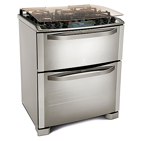 Electrolux cocina 5 quemadores 76gdx for Cocinas con horno electrico