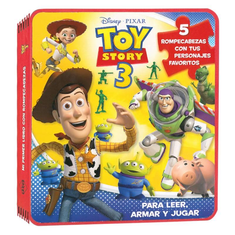 Lexus - Disney Toy Story 3 Rompecabezas en Goma Eva