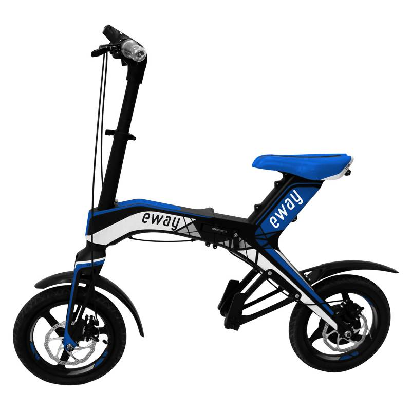 Eway - Bicicleta Eléctrica Aro 12 Azul