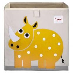 3 Sprouts - Caja Rinoceronte Amarillo
