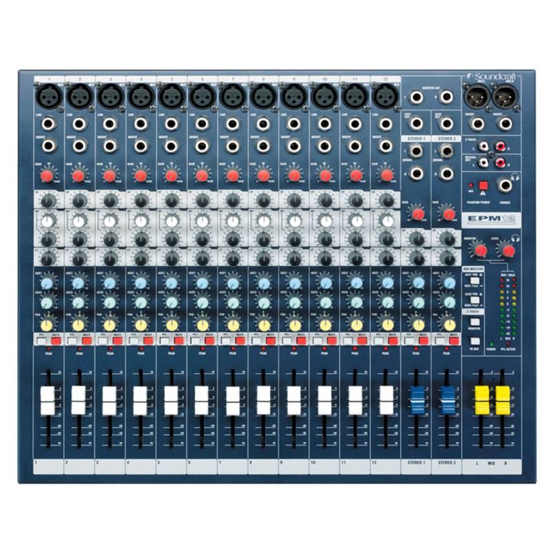Soundcraft - Consola Mezcladora Epm12