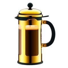 Bodum - Cafetera Chamboard 1,0 lt Oro