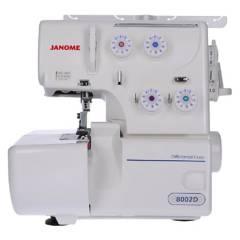 JANOME - Máquina overlock 8002D