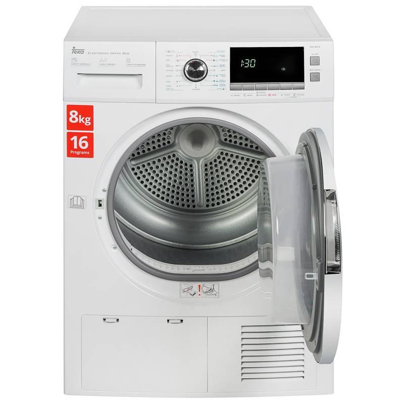 Teka - Secadora Eléctrica 8 kg TKS 850 C