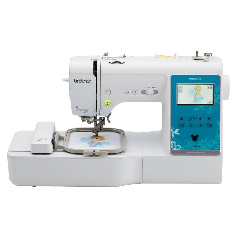Brother - Máquina Bordadora y Coser NV960DL