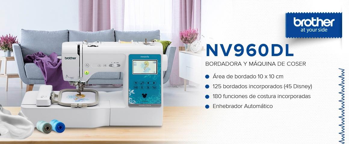 Máquina de coser y bordar NV960DL
