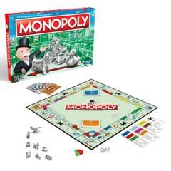 MONOPOLY - Juegos De Mesa Hasbro Gaming Monopoly Clásico