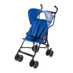 CHICCO - Coche Paragua Snappy Blue Whales