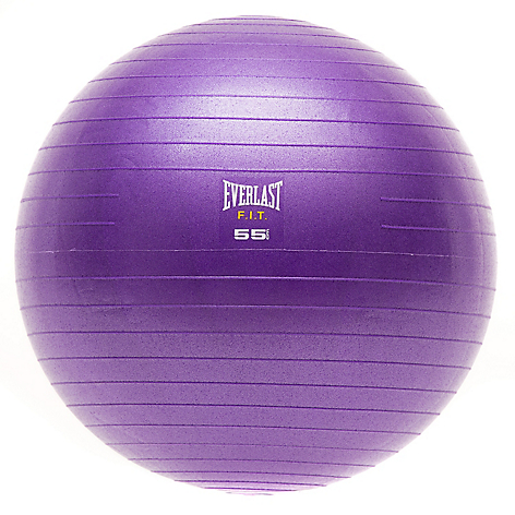 Balon Pilates Fit Purpura 55 cm